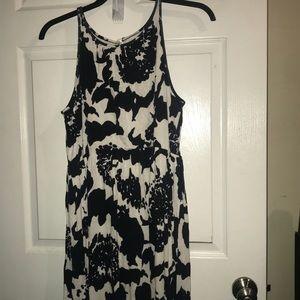 High neck summer dress